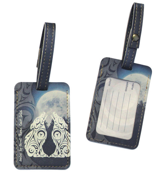 Luggage Tag - Wolves