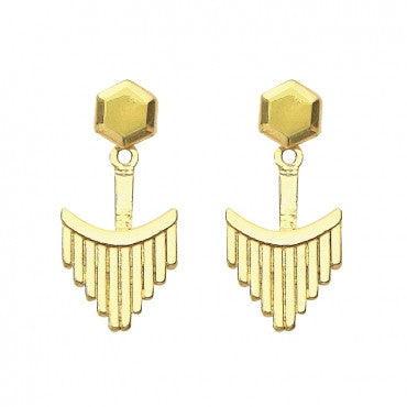 'Lux' Earrings (14K Gold)