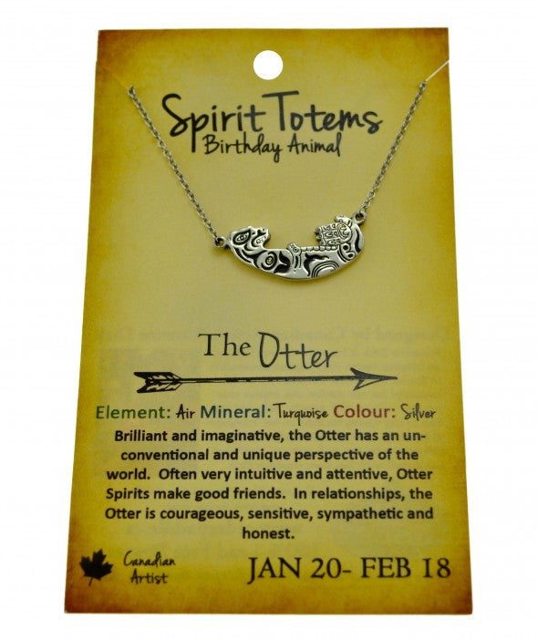 Otter Spirit Totem Necklace