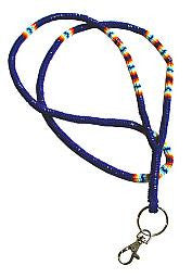 Peyote Stitch Beaded Lanyard