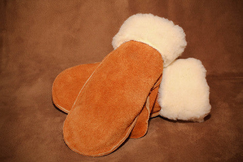 Moose Hide Leather Mitt