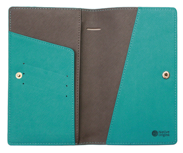 Travel Wallet - Wealth of the Sea (Teal)