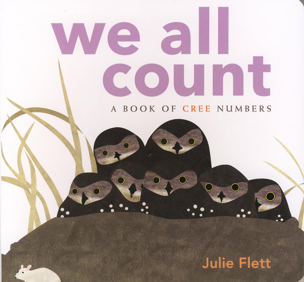 Board Book - We All Count (Cree)