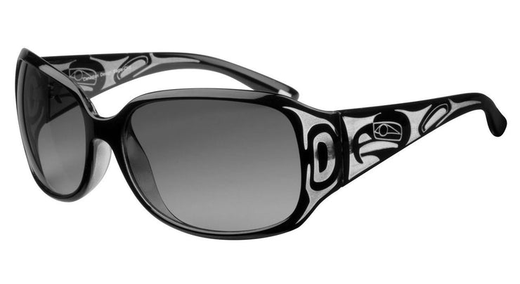 Ladies Yasmine Eagle Sunglasses (Crystal/Black)