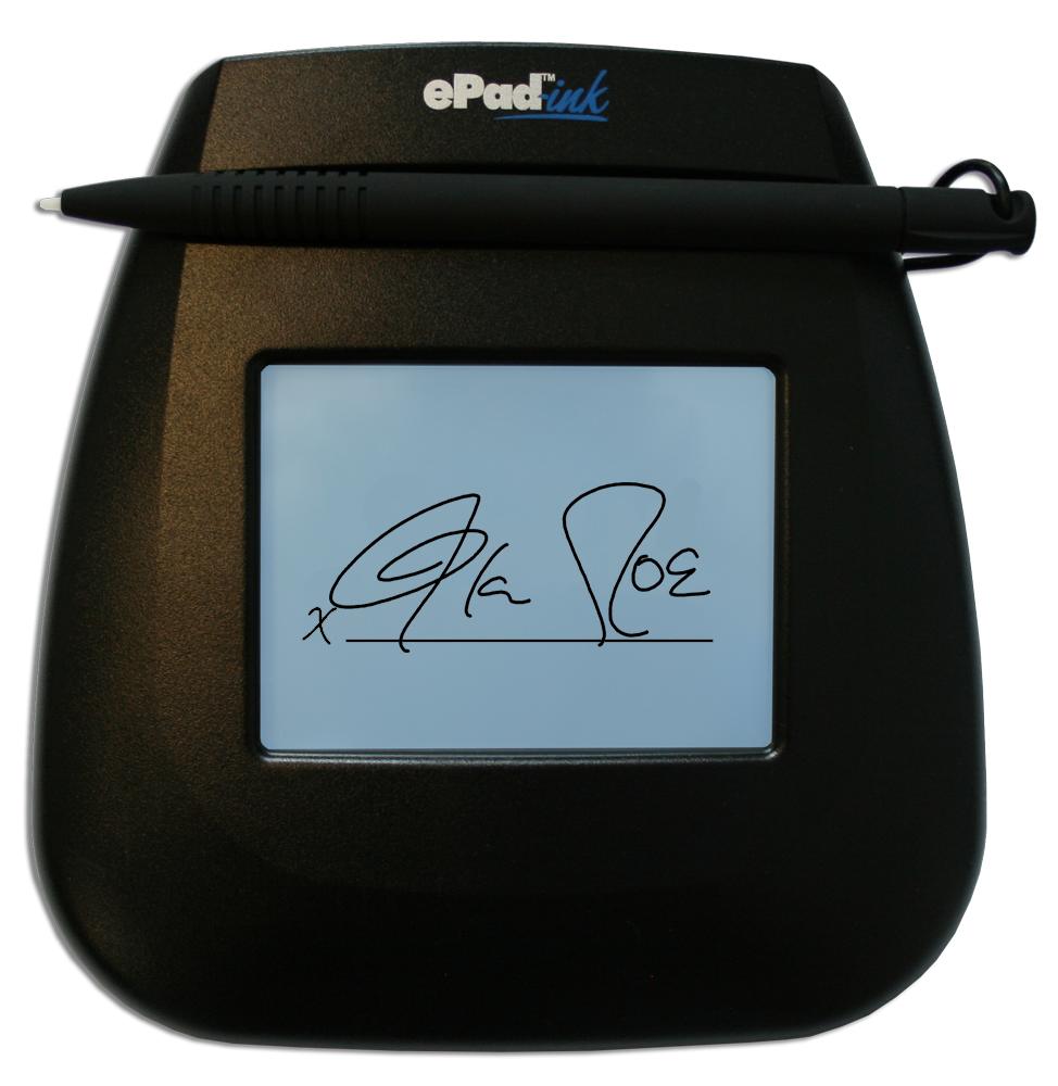 ePad-ink Signature Pad
