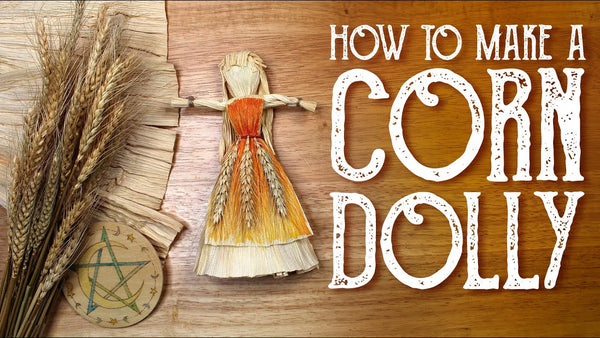 How to Make a Corn Dolly YouTube