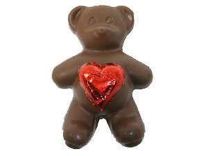 Valentine's Day Honey Bear