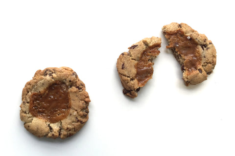 Chocolate Chip Caramel Cookies - Liddabit Sweets