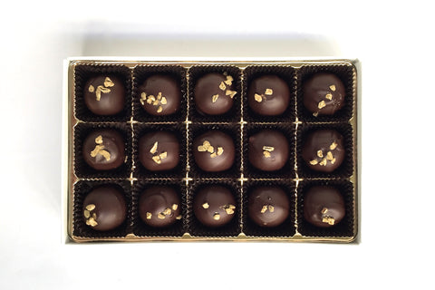 Saucy Whiskey Honey Truffles - Liddabit Sweets  - 1