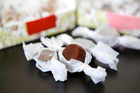 Dark Chocolate Sea Salt Caramels - Liddabit Sweets  - 2