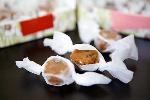Apple Cider Caramels - Liddabit Sweets  - 2