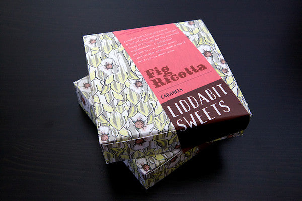 Fig-Ricotta Caramels - Liddabit Sweets  - 1