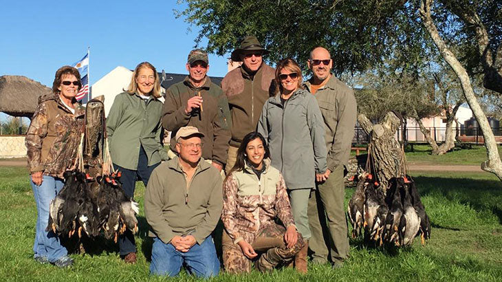 Our Argentina Wingshooting Group