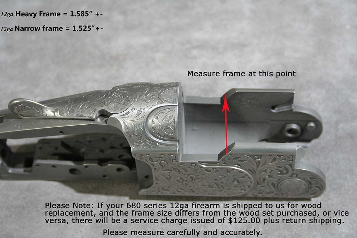 Measure for Beretta Heavy Frame or Ultra Light