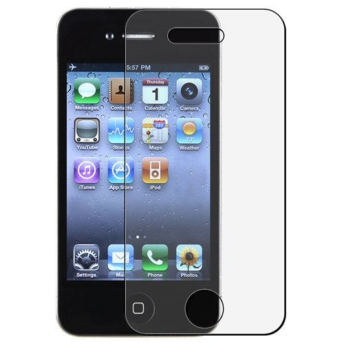 8 x Screen Protector iPhone 4 4S Protector (4 x FRONT and 4 x REAR film)