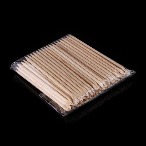 Pack of 20 Wooden Manicure Sticks