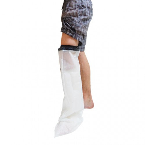 Waterproof Cast and Dressing Protector - Half Leg
