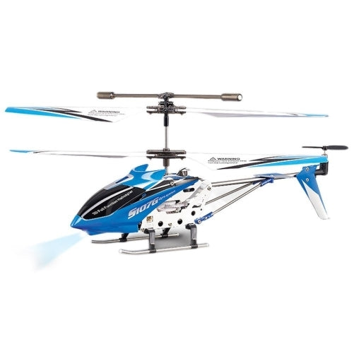 Blue - Syma S107g 3 Channel Infrared Controlled Helicopter with Gyroscopic Stability Control