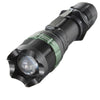 LED Flashlight 7W CREE Q5 1600LM 3-Mode Zoom Ultra Bright Black Focus Torch with Mechanical Zoom