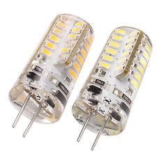 10 pcs LED G4 24 SMD 3014 Warm White Energy Saving Lamp Holder Lamp Bulb 1.5 Watt 110 Lumen
