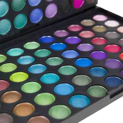 120 Eyeshadows Palette. Complete Kit for Eye Make-up | Professional palette Make Up