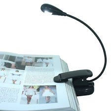 Flexible LED Reading Light Lamp with adjustable parts Amazon Kindle Nook Sony Kobo E-BOOK READER