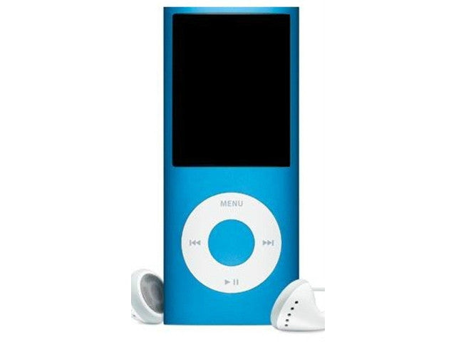 8GB MP3,MP4 Player 5th Gen. with Radio and Camera (Apple Style) - Metal Blue