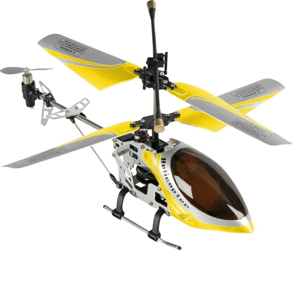 REH46112 Falcon Helicopter Mini RC Helicopter RTF with Gyro Metal-X technology - yellow