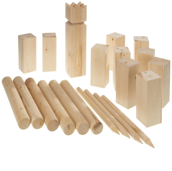 Carromco 7711 Viking Chess - 21 Piece, Birch wood
