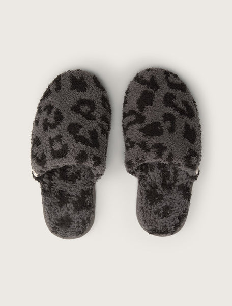 CozyChic Barefoot in the Wild Slipper in Graphite/Carbon