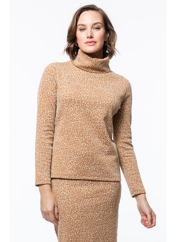 Christa Turtleneck in Cheetah