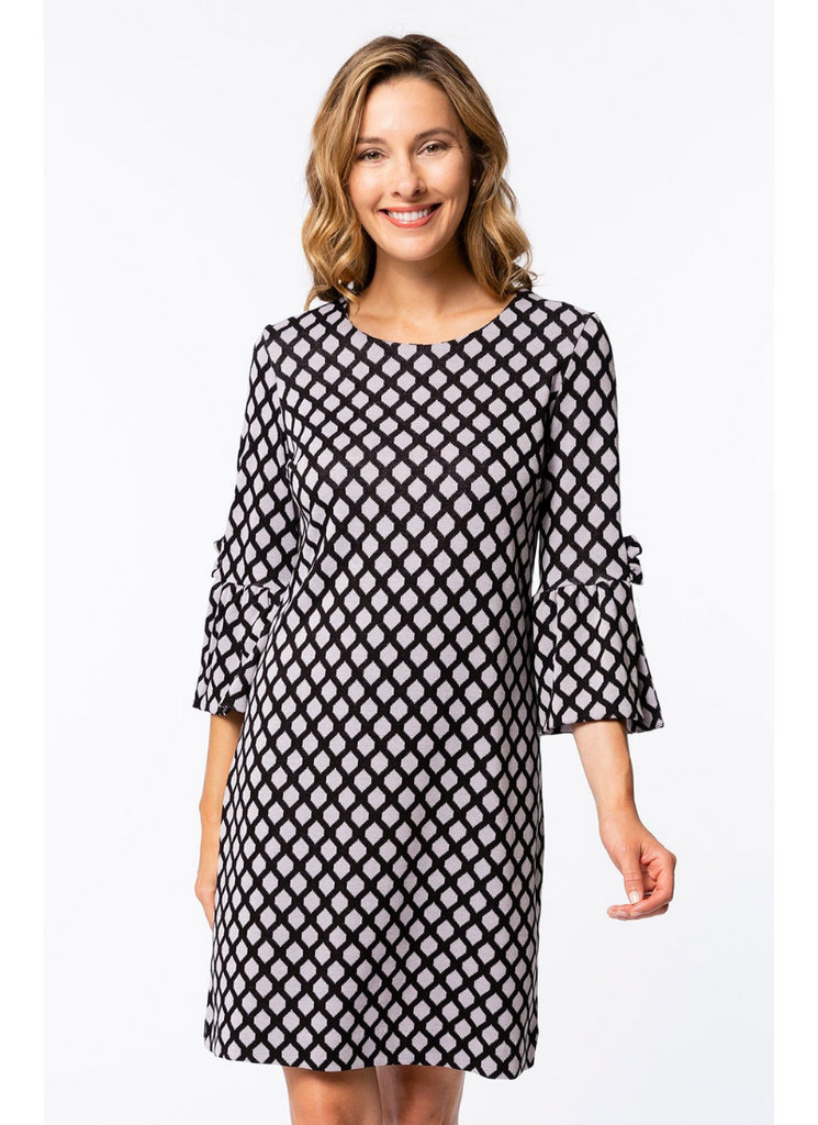 Sydney Jacquard Dress in TPB