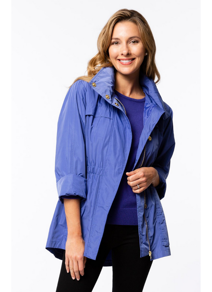 Newport Rain Slicker in Iris