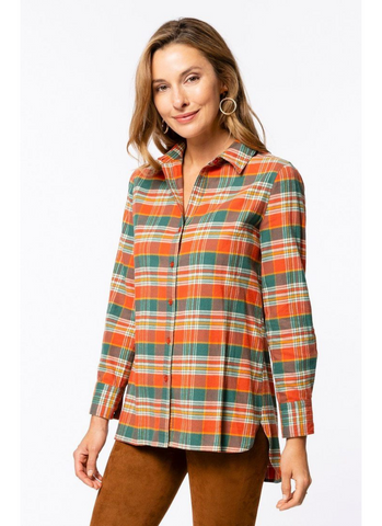 Brushed Yellowstone Plaid Shirt