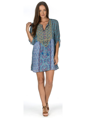 Edora Tunic in Lagoon