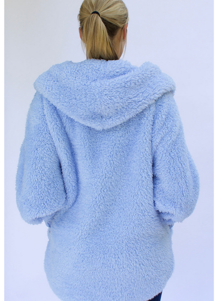 Cozy Wrap in Cashmere Blue