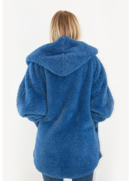 Cozy Wrap in Blue Bird