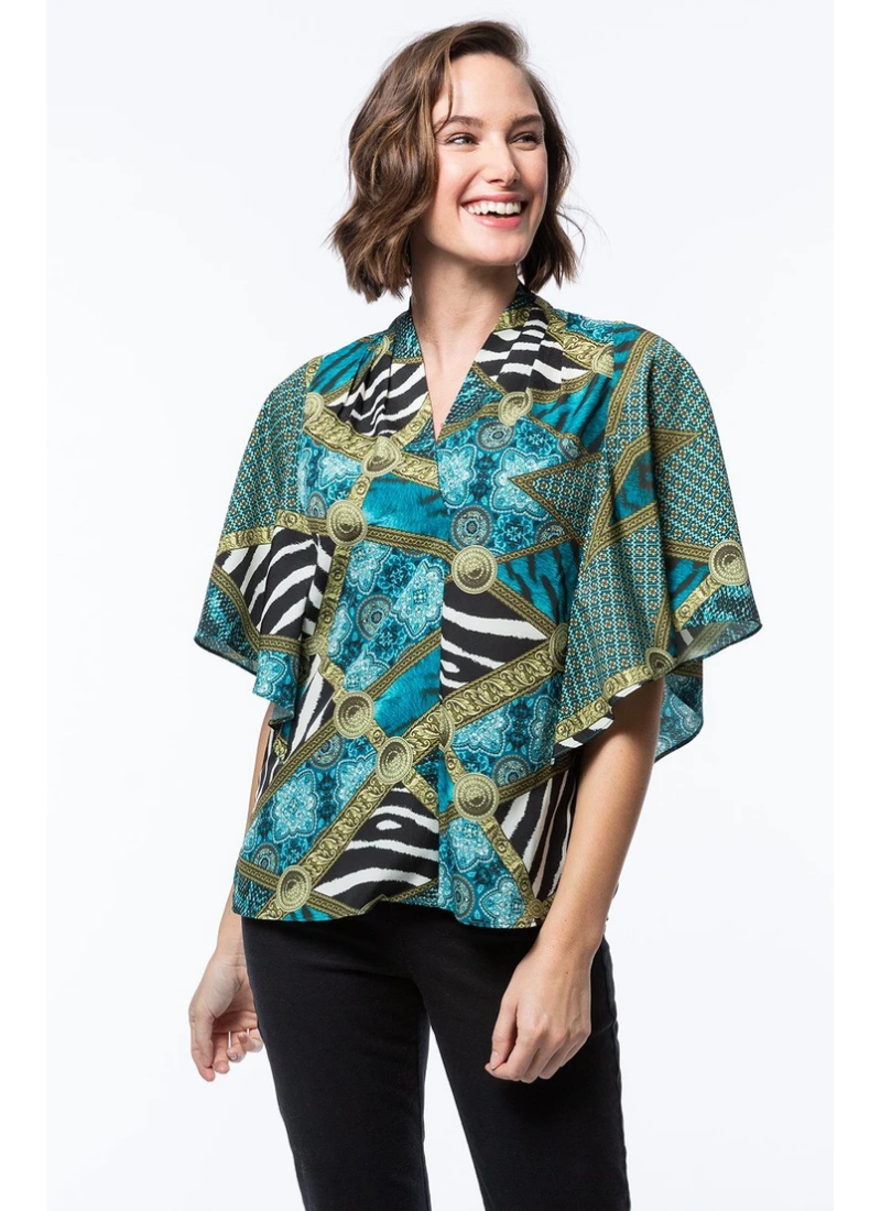 Poly Athena Blouse