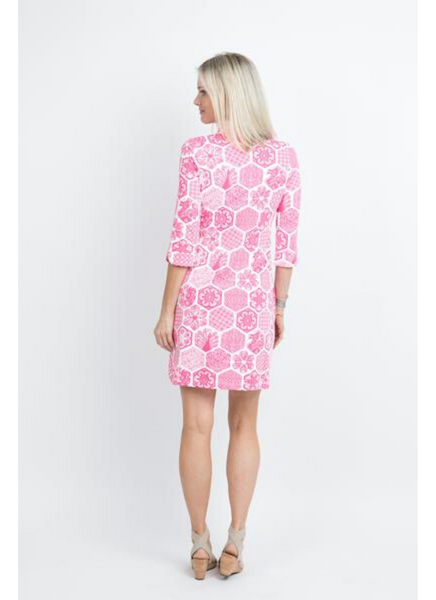Coco Dress in Chinese Paper Pink