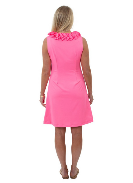 Cricket Sleeveless Dress in Pink