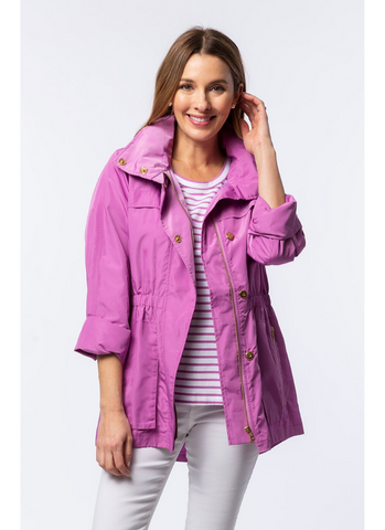 Newport Rain Slicker in Orchid
