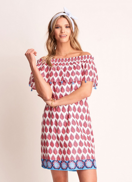 Brooke Dress in Palm