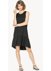 Peplum Dress in Black