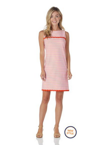 Hattie Dress Summer Stripe