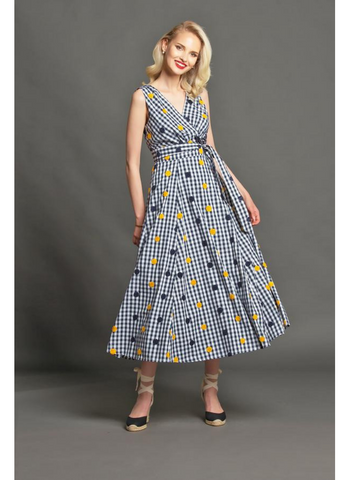 Masha Dress in Savannah Gingham