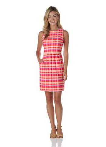 Mary Pat Dress Festival Plaid