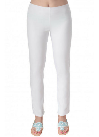 White Pull on Pant