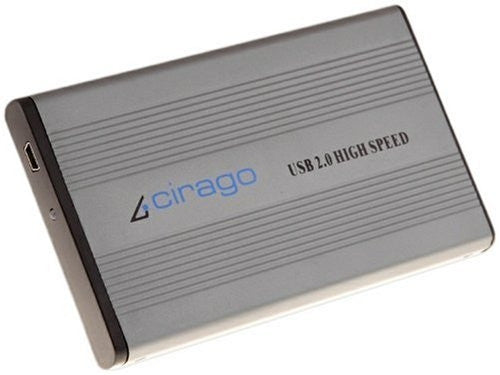 "Cirago 2.5"" 500GB USB 2.0 Portable External Hard Drive CST1500 CST-1500"
