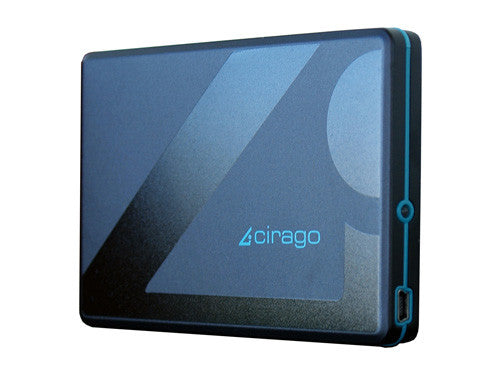 "Cirago 2.5"" 500GB USB 2.0 Portable Slim External Hard Drive CST5500 CST-5500"