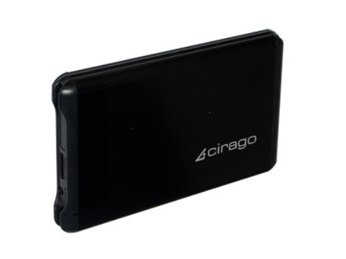"Cirago 2.5"" 500GB USB 3.0 Portable Slim External Hard Drive CST6050 CST-6050"